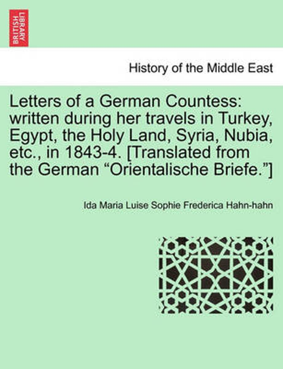 Letters of a German Countess