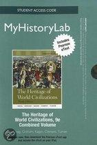 NEW MyHistoryLab with Pearson Etext Student Access Code Card for Heritage of World Civilizations, Combined Volume (standalone)
