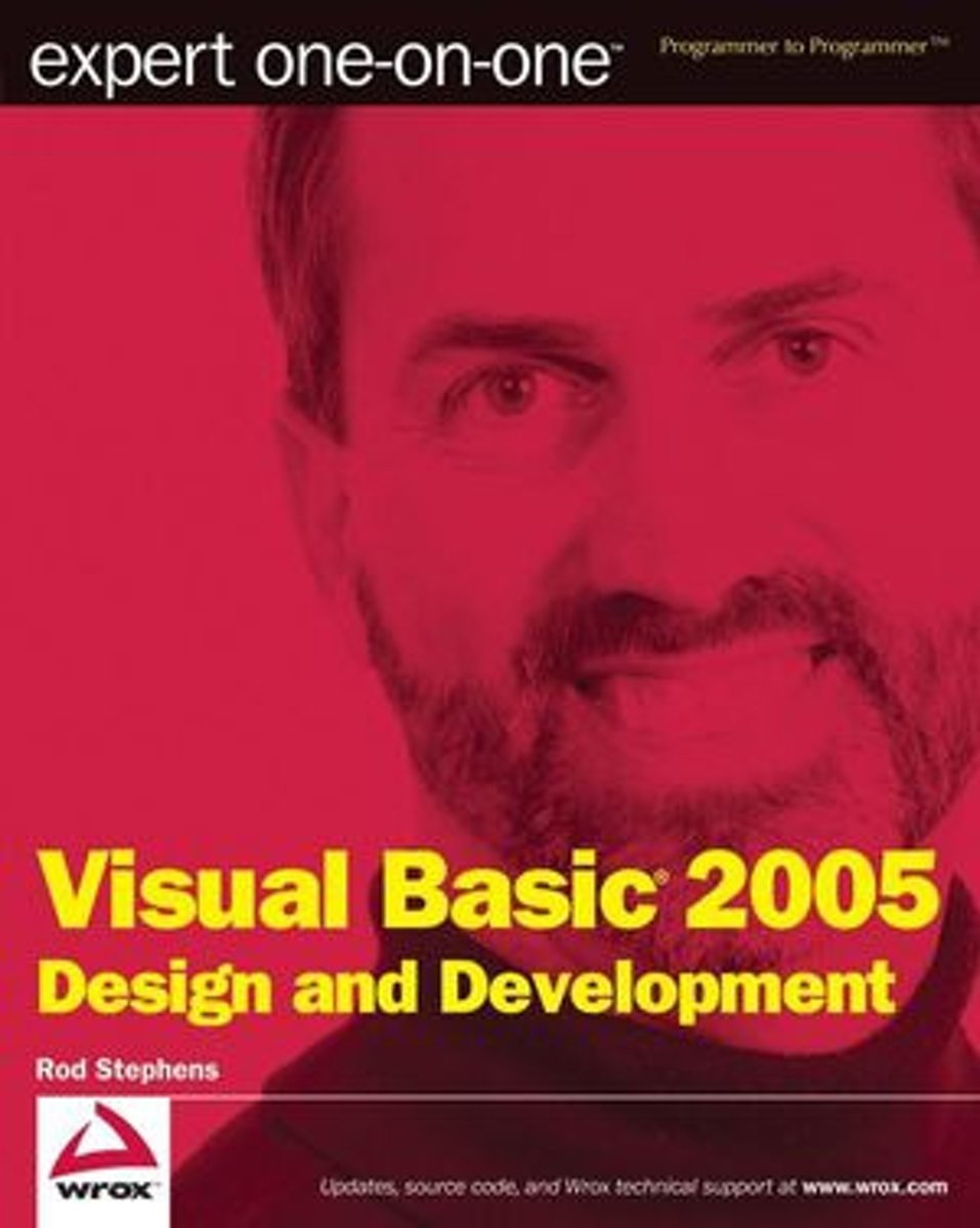 Expert One-On-One Visual Basic 2005 Design And Development