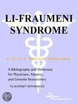 Li-Fraumeni Syndrome - a Bibliography and Dictionary for Physicians, Patients, and Genome Researchers