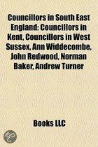 Councillors in South East England: Councillors in Kent, Councillors in West Sussex, Ann Widdecombe, John Redwood, Norman Baker, Andrew Turner