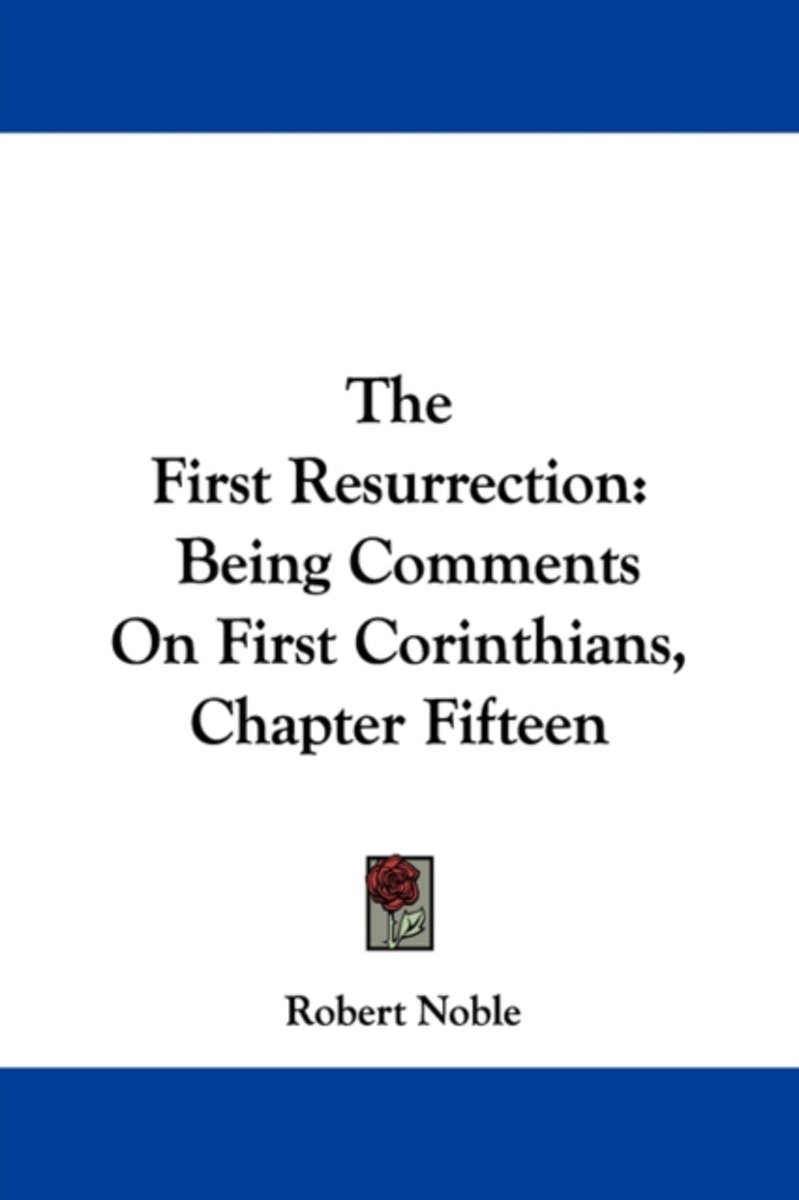 The First Resurrection