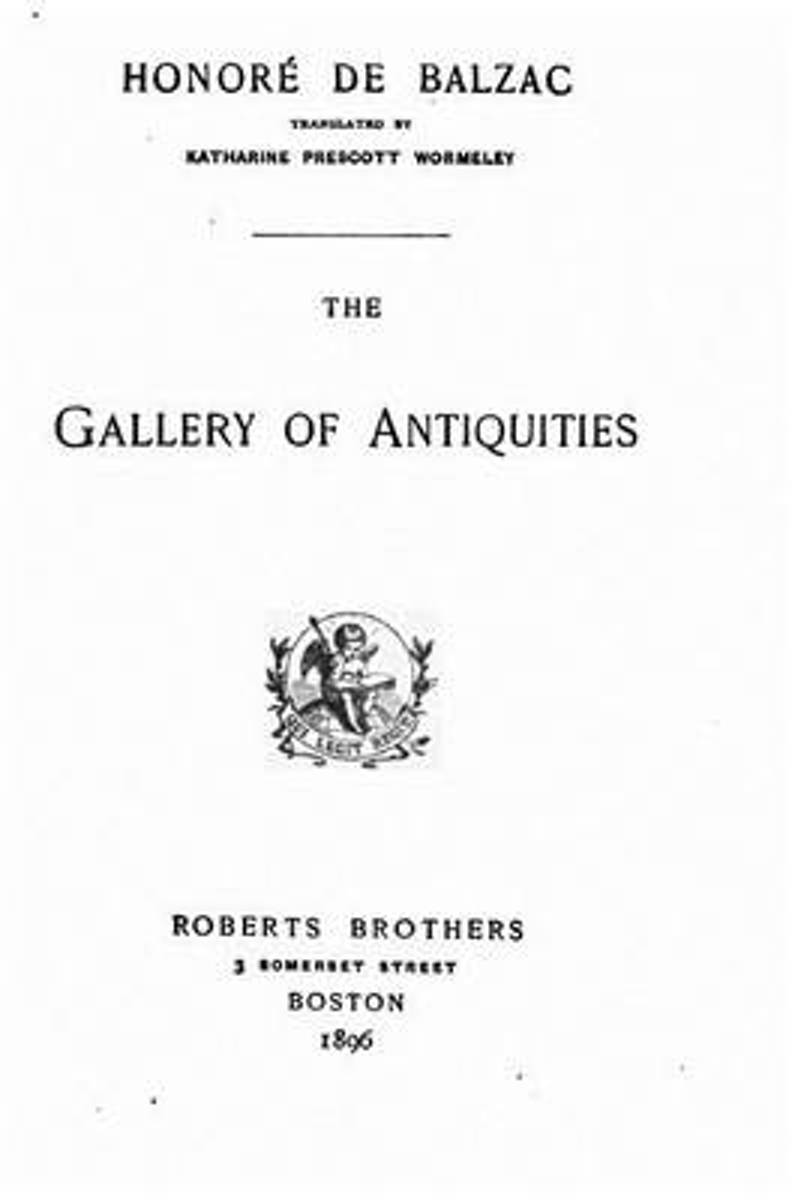 The Gallery of Antiquities