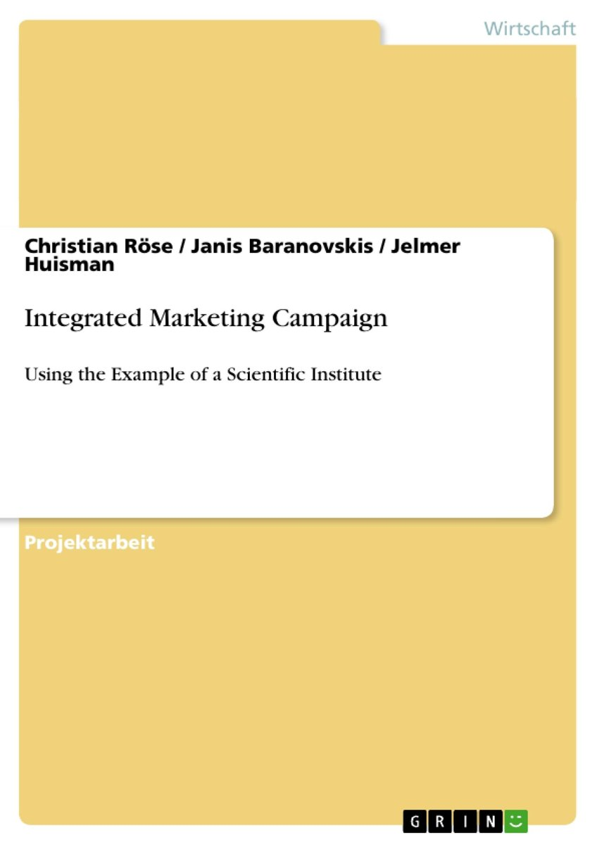 Integrated Marketing Campaign