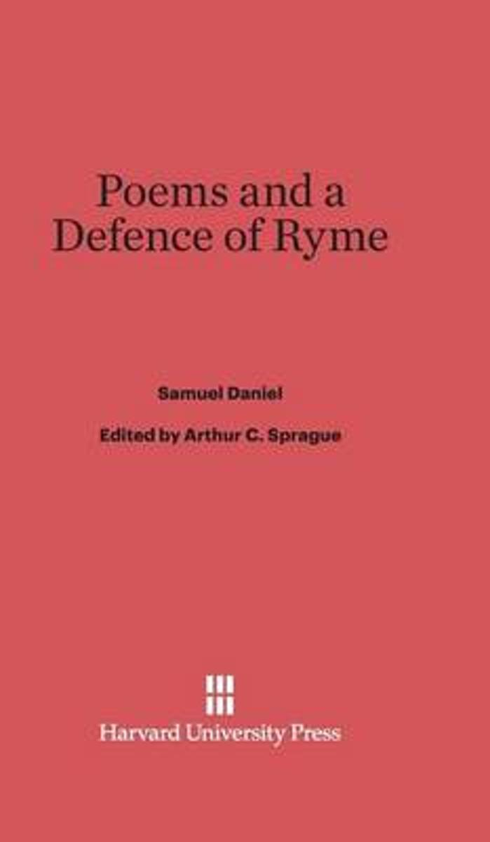 Poems and a Defence of Ryme