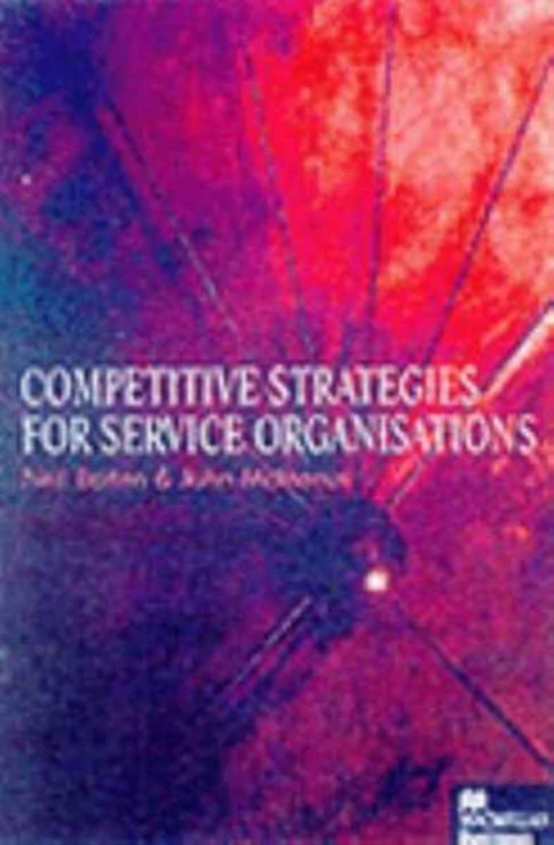 Competitive Strategies for Service Organisations