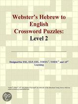 Webster's Hebrew to English Crossword Puzzles