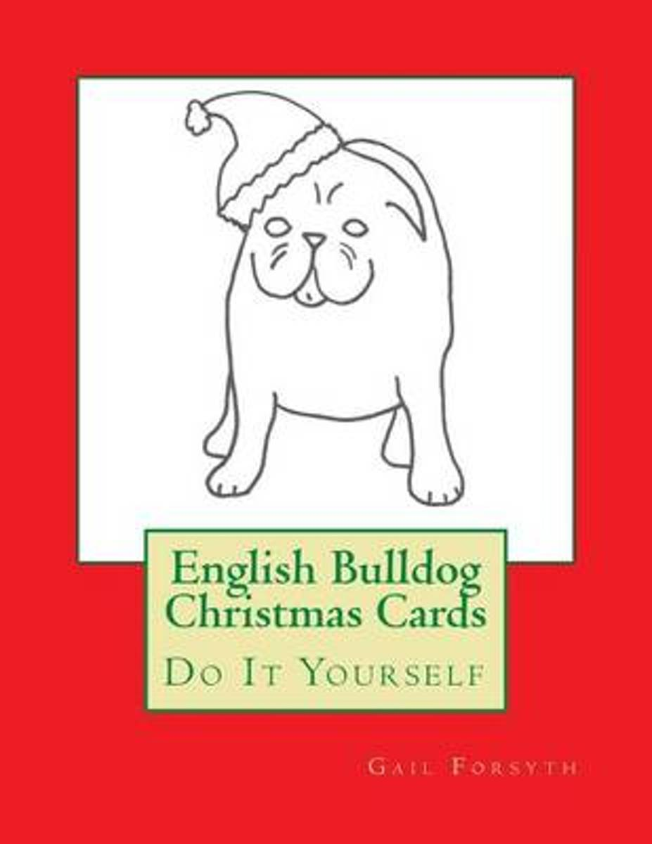 English Bulldog Christmas Cards