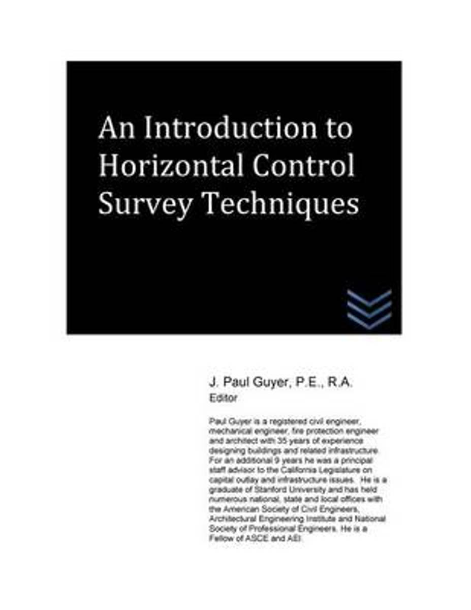 An Introduction to Horizontal Control Survey Techniques