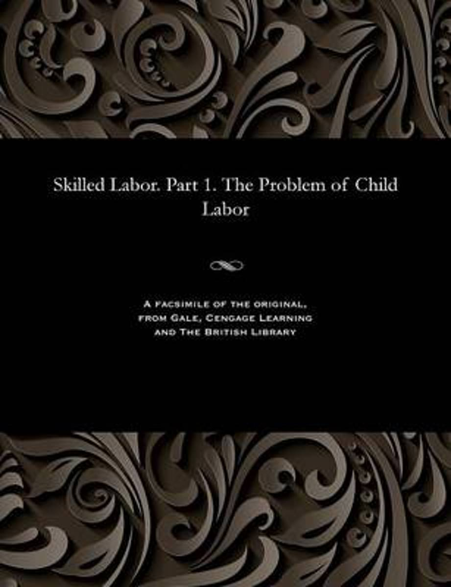 Skilled Labor. Part 1. the Problem of Child Labor