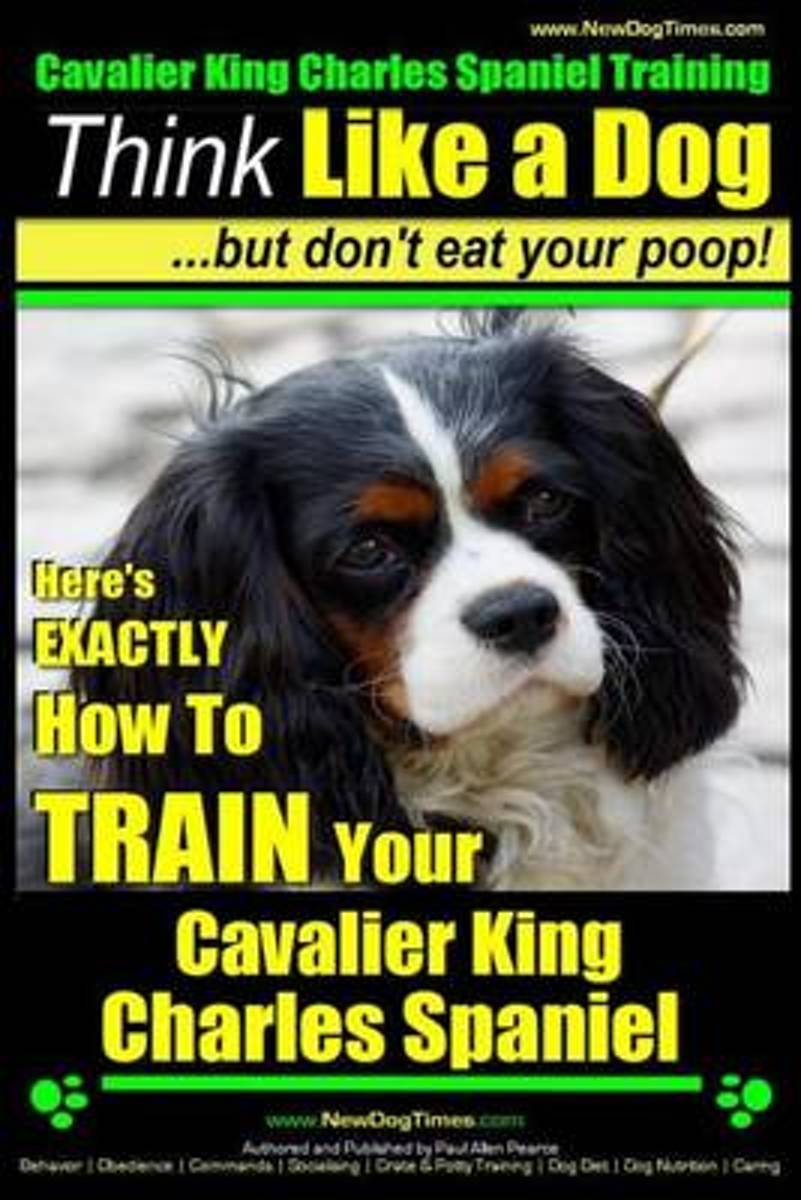 Cavalier King Charles Spaniel Training Think Like a Dog, But Don't Eat Your P