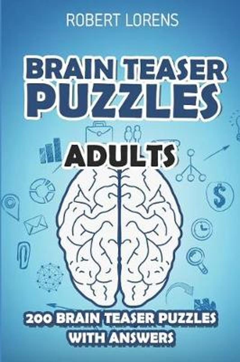 Brain Teaser Puzzles Adults