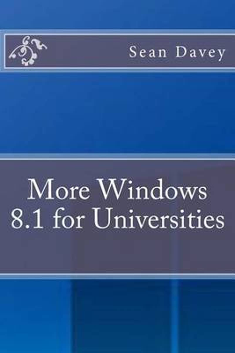 More Windows 8.1 for Universities