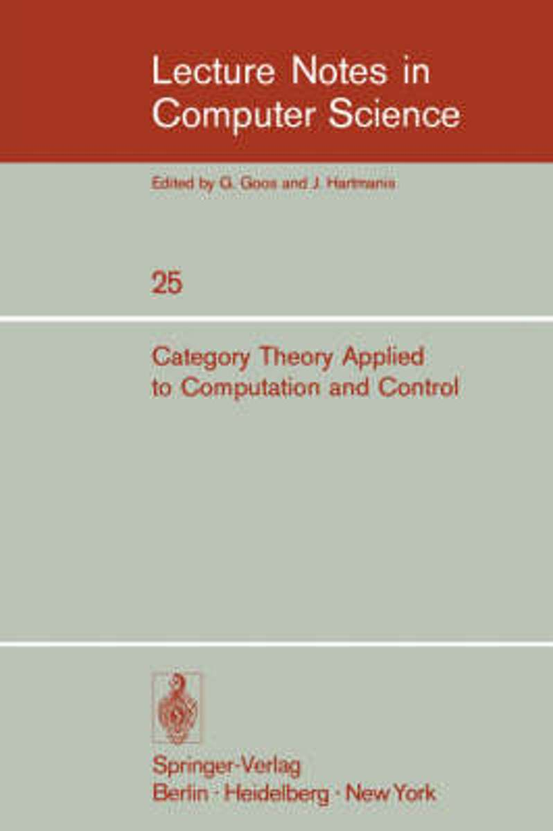 Category Theory Applied to Computation and Control