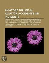 Aviators killed in aviation accidents or incidents