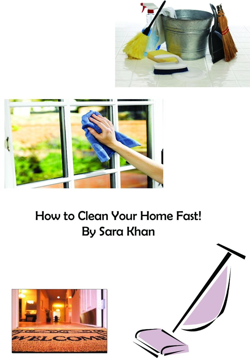 How to Clean Your Home Fast!