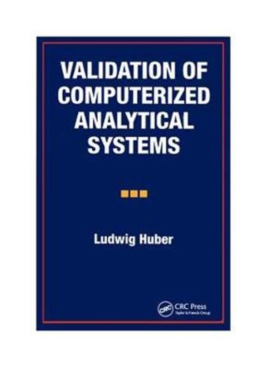 Validation of Computerized Analytical Systems