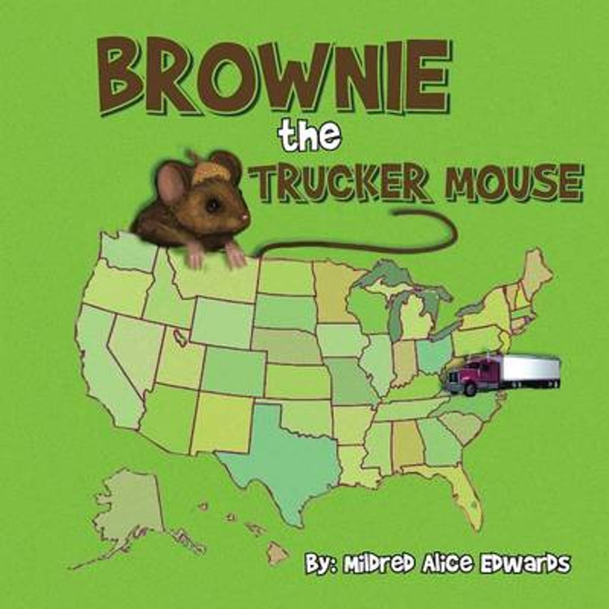 Brownie the Trucker Mouse