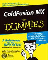 ColdFusion MX For Dummies