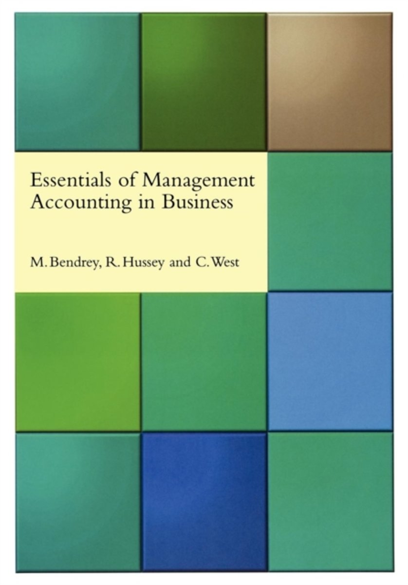 Essentials of Management Accounting in Business