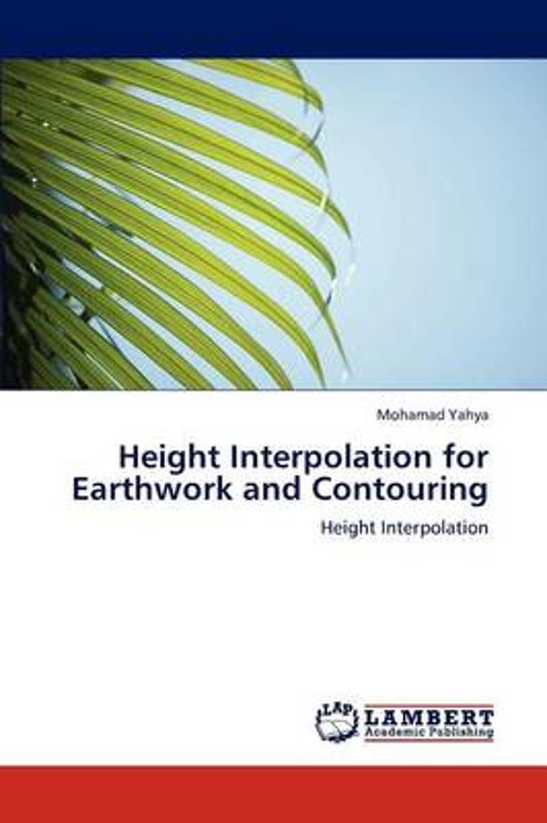 Height Interpolation for Earthwork and Contouring