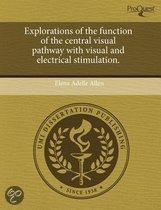 Explorations Of The Function Of The Central Visual Pathway With Visual And Electrical Stimulation.