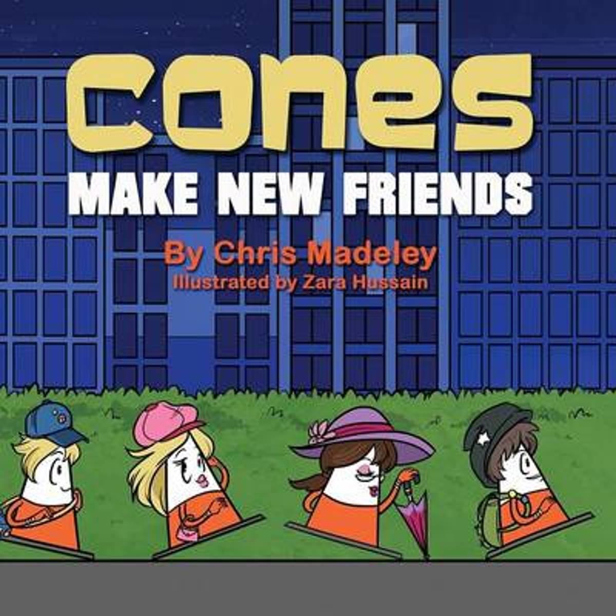 Cones Make New Friends image