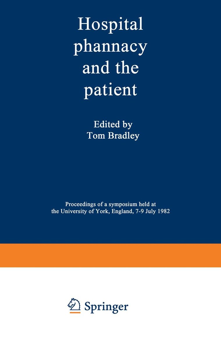 Hospital pharmacy and the patient