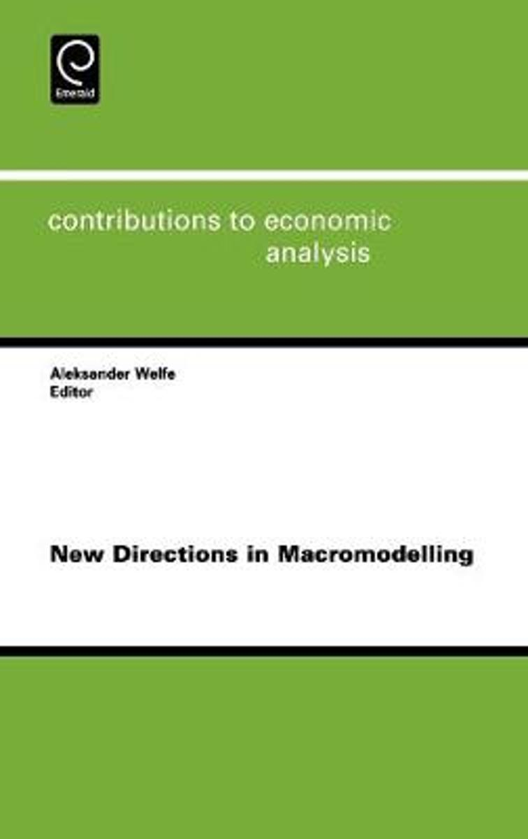 New Directions in Macromodelling