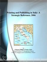 Printing and Publishing in Italy