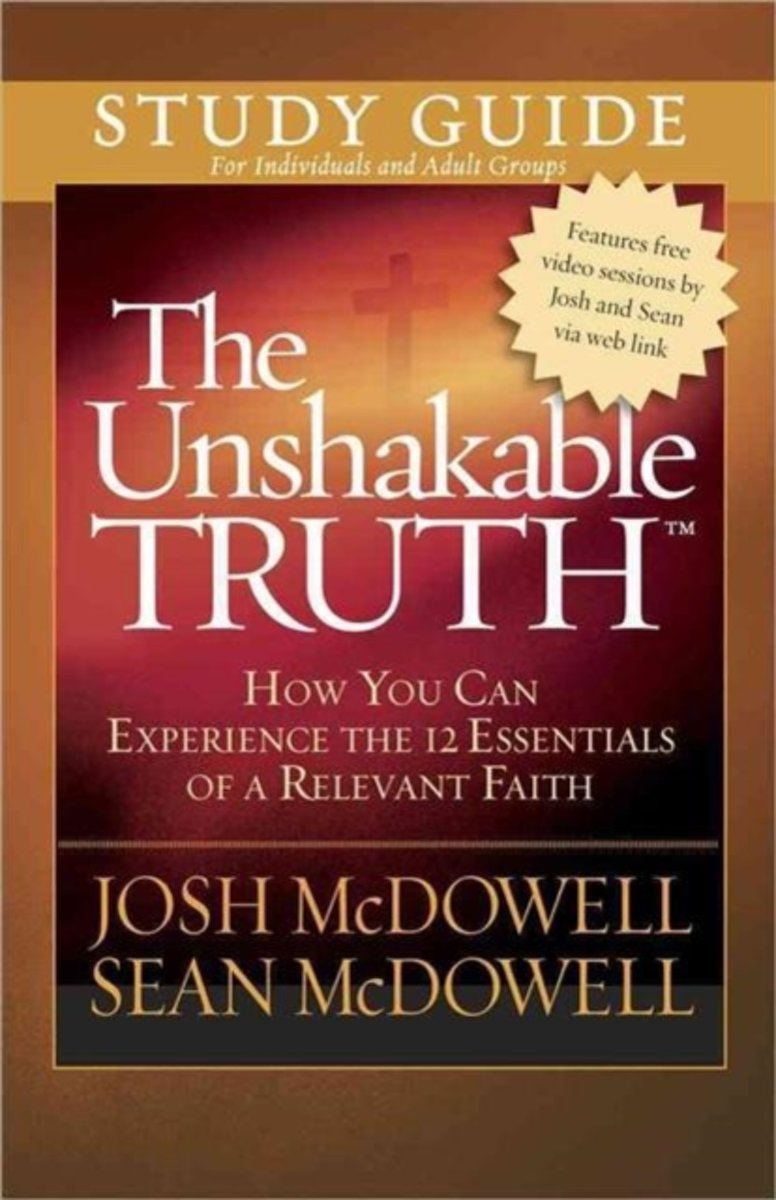 The Unshakable Truth Study Guide