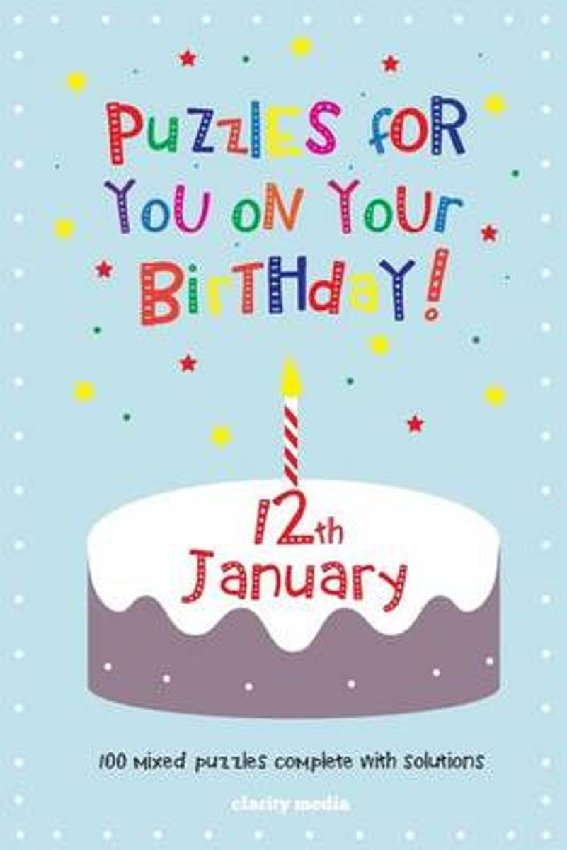 Puzzles for You on Your Birthday - 12th January