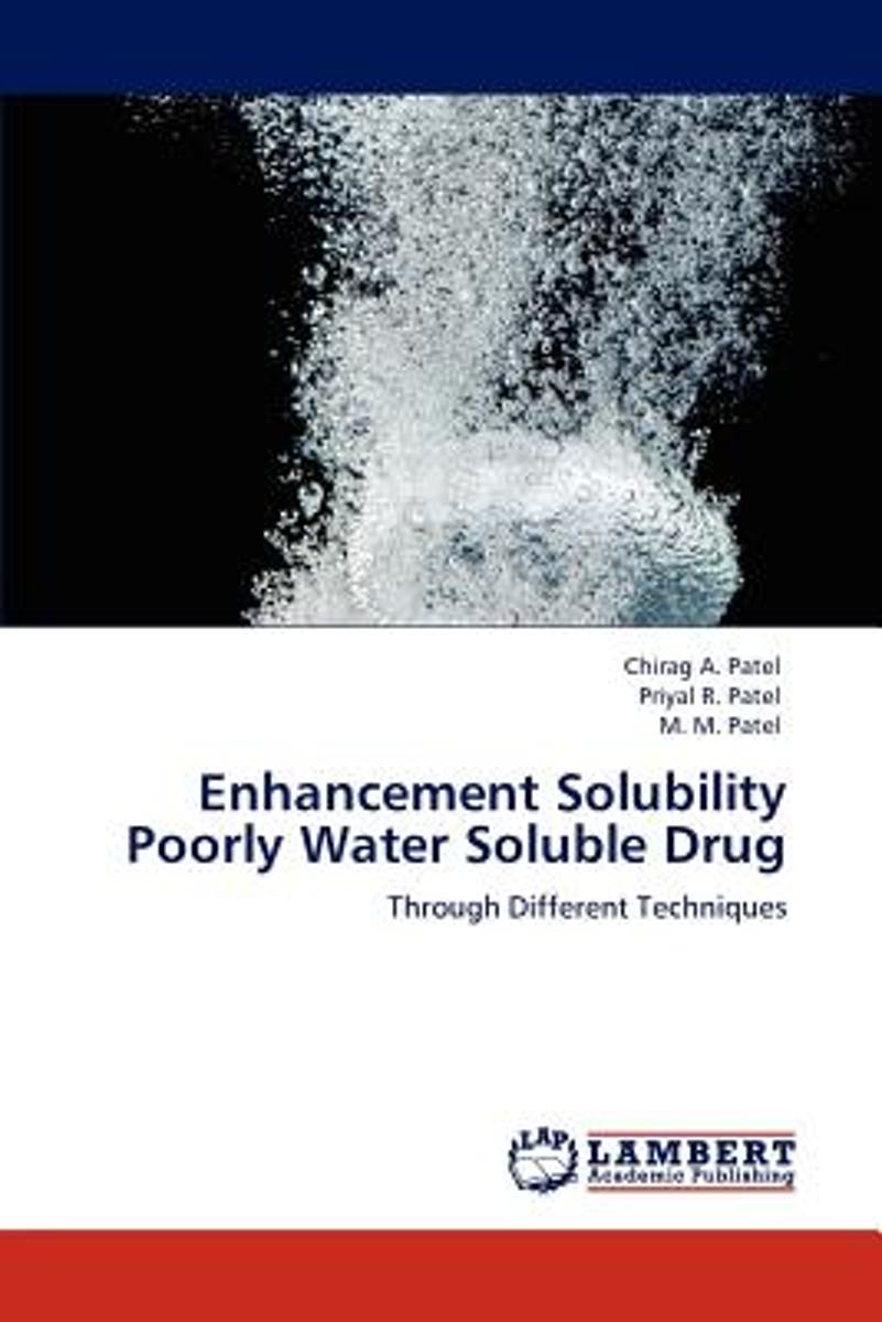 Enhancement Solubility Poorly Water Soluble Drug