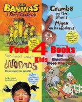 Four Food Books for Kids: Box Set with Recipes, Finding Activities & Online Secrets