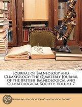 Journal Of Balneology And Climatology
