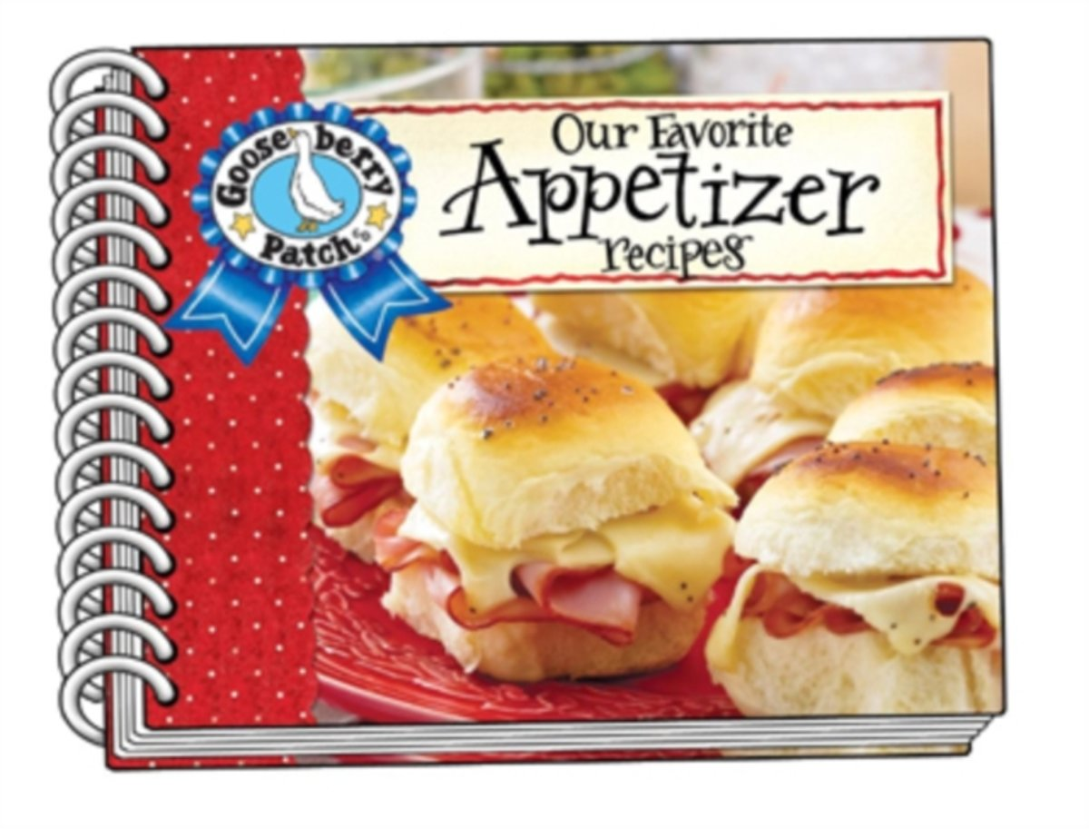 Our Favorite Appetizer Recipes with Photo Cover