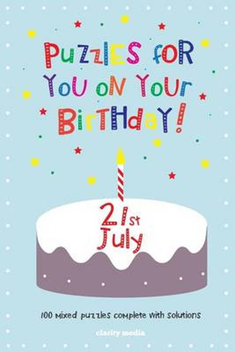 Puzzles for You on Your Birthday - 21st July