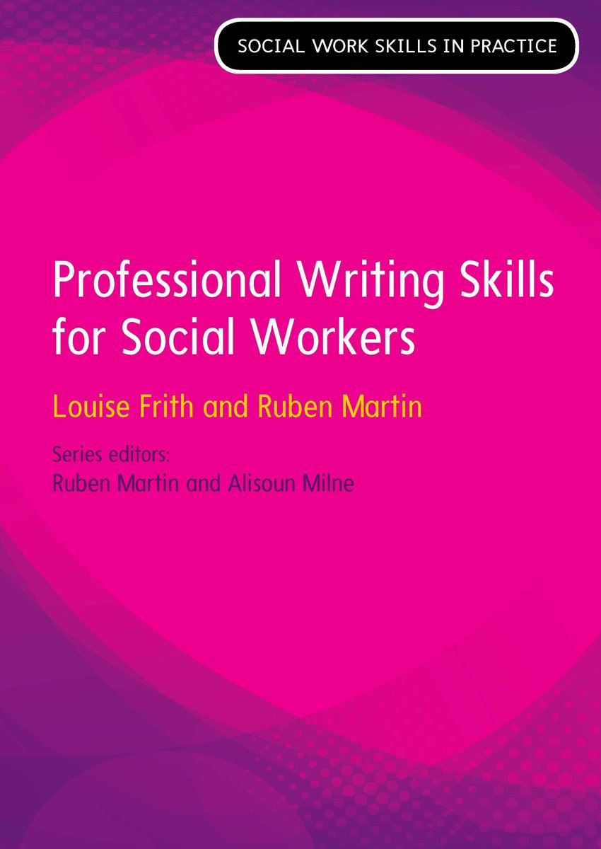 Professional Writing Skills For Social Workers