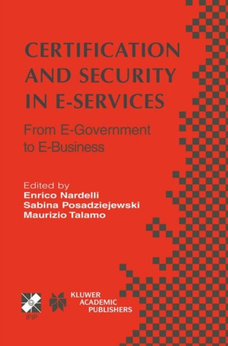 Certification and Security in E-Services
