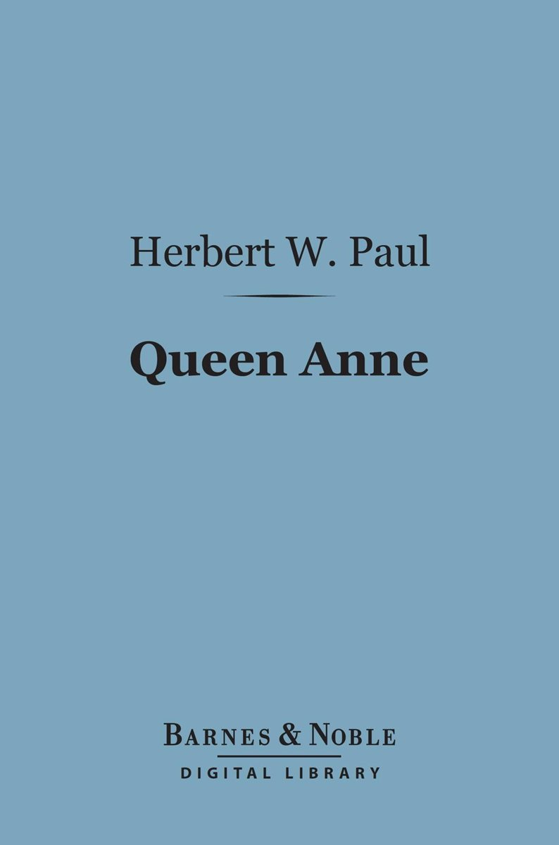 Queen Anne (Barnes & Noble Digital Library)