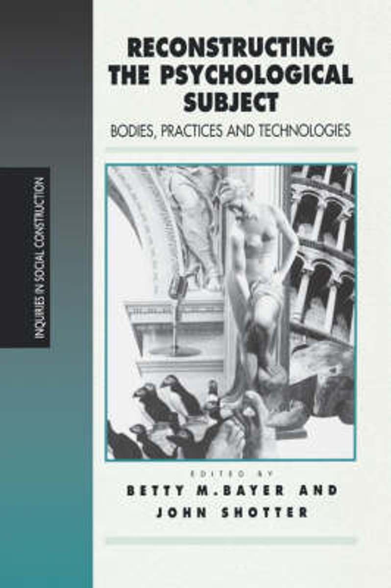 Reconstructing the Psychological Subject