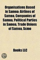 Organisations Based In Samoa: Samoa Broadcasting Corporation, Journalists Association Of Samoa,