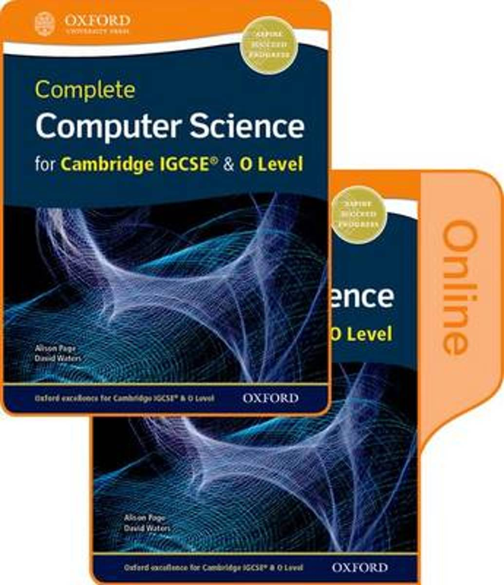 Complete Computer Science for Cambridge IGCSE (R) & O Level Print & Online Student Book Pack