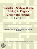 Webster's Serbian (Latin Script) to English Crossword Puzzles