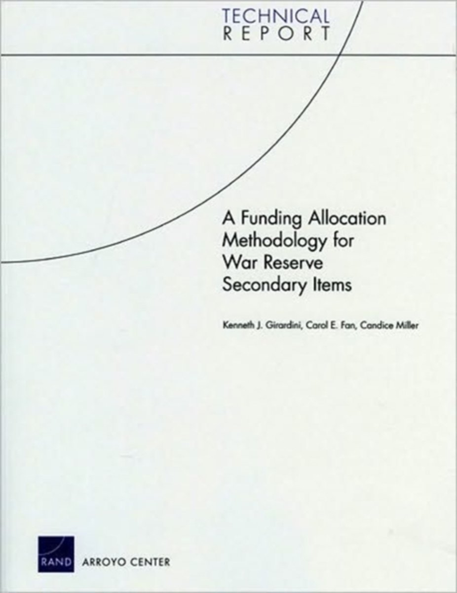 A Funding Allocation Methodology for War Reserve Secondary Items