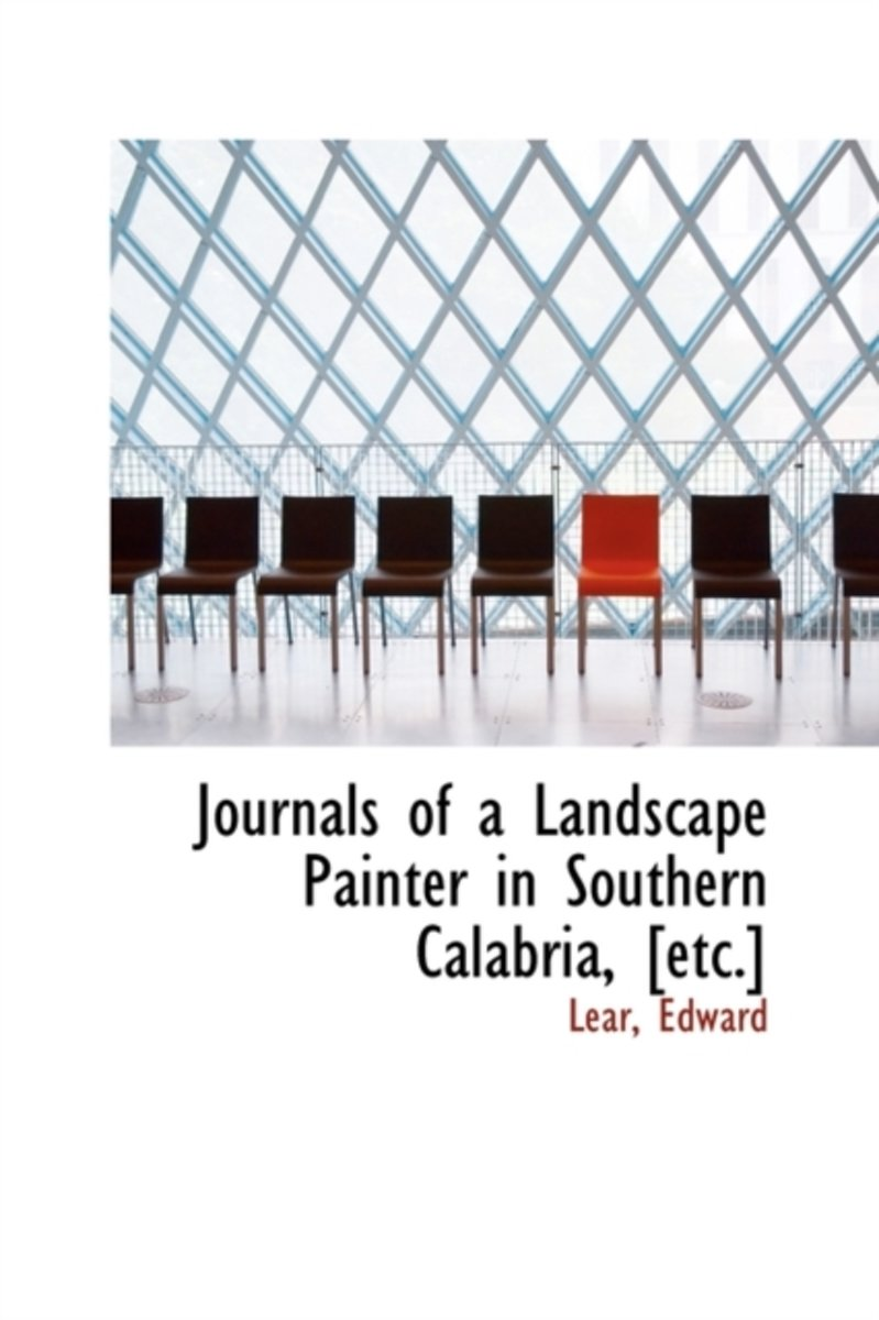 Journals of a Landscape Painter in Southern Calabria