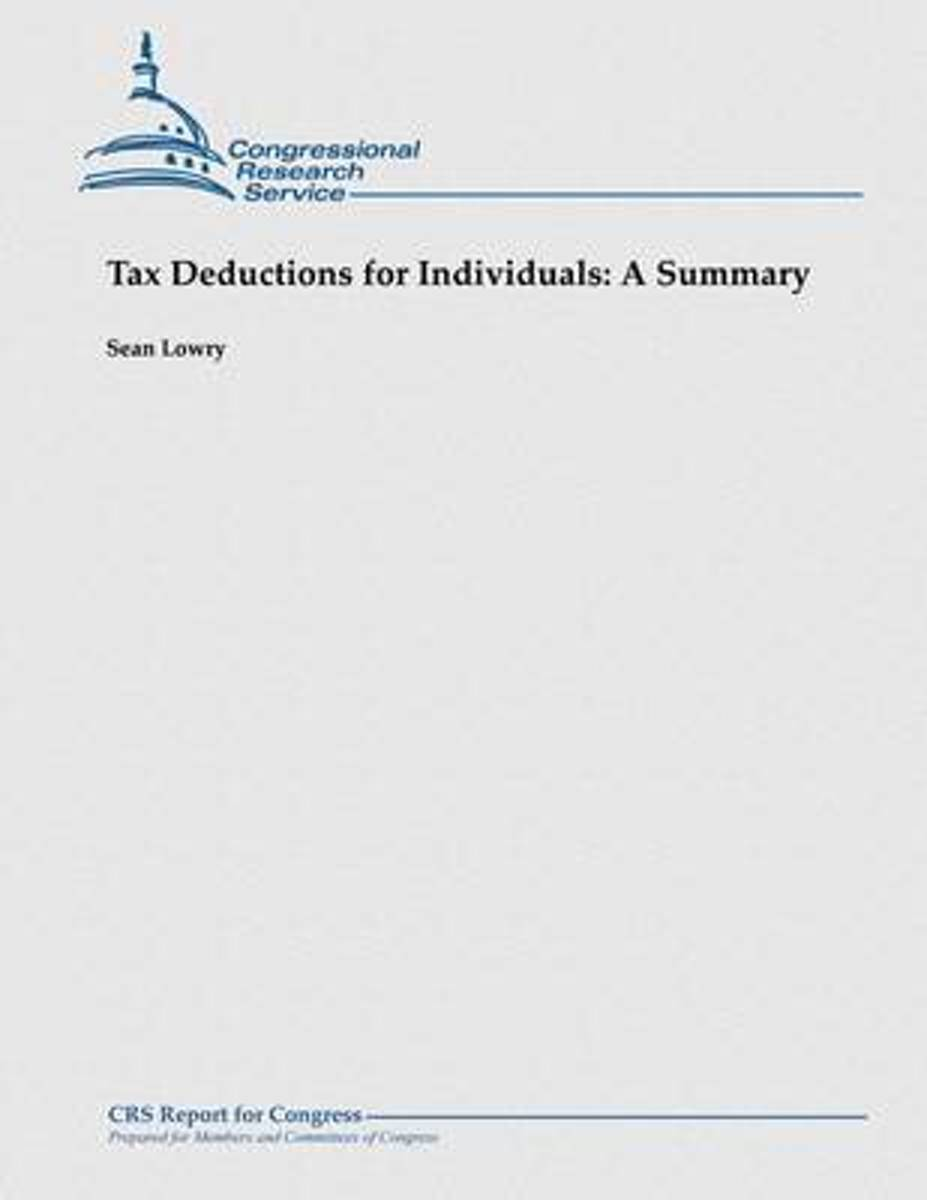 Tax Deductions for Individuals