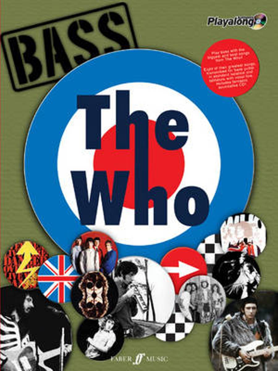 The Who Authentic Bass Playalong