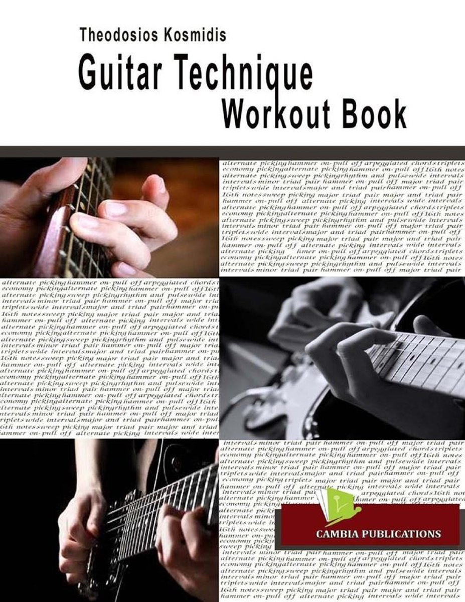 Guitar Technique Workout Book