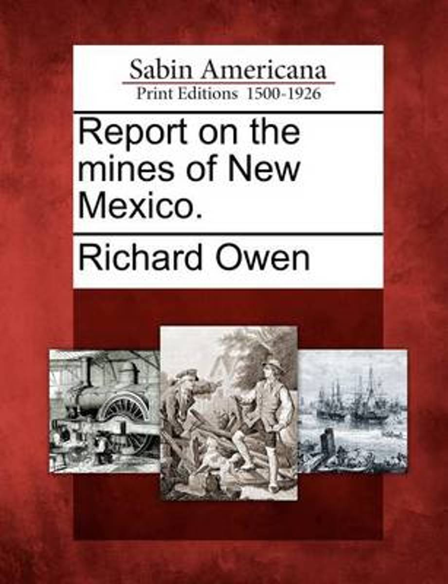 Report on the Mines of New Mexico.